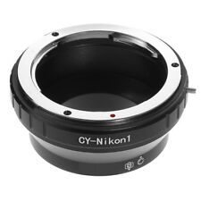 Contax Yashica CY Lens to Nikon 1 Mount Camera Adapter Ring Fr V1 V2 V3 J1 J2 J3
