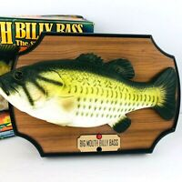 Vintage 1998 Big Mouth Billy Bass Singing Fish Gemmy 36134 Motion Activated