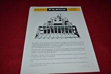 Fleco Skeleton Rock Bucket Caterpillar Loaders Dealers Brochure BWPA