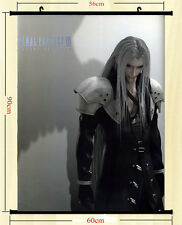 Final Fantasy Hot Game Art Silk Wall Scroll Poster 60x90cm Sephiroth