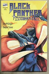 GN/TPB Black Panther Panther's Prey Book 4 vf- 7.5 Solomon Prey Dwayne Turner