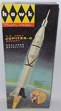 Fusées: us army jupiter-c ROCKET Modèle Kit par Hawk faite en 1958 (mlfp)