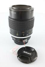 Nikon Micro Nikkor 105mm f4 ai objectif macro TRÈS BON ÉTAT [ref001]