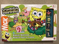 Spongebob Squarepants Bikini Bottom Beach Party Game 100% Complete Nickelodeon