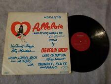 Beverly Wesp / Mozart's Alleluia - Vinyl LP Record Album - Palomino - 304 - RARE