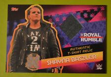 Topps Slam Attax Reloaded 2020 WWE Shayna Baszler T-Shirt Relic card M4