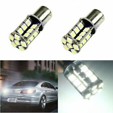 2x White 1156 BA15S P21W 1129 30-LED Canbus Error Free Car Turn Signal Light 12V