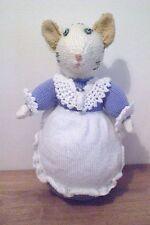 """La signora Tabitha twitchit da Beatrix Potter ~ NUOVO HAND Knitted Bambola/giocattolo 33 cm/13 """"Tall"""