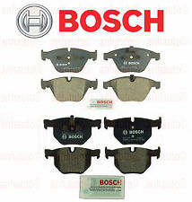 NEW BMW E90 E92 335i 335xi Set of Front and Rear Brake Pad Sets Bosch QuietCast
