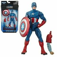 "Marvel Legends Avengers 6"" Captain America Figure  Wave 5"