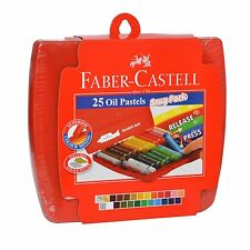 Faber-Castell 124025 Oil Pastels, Pack of 25 (Multicolor)