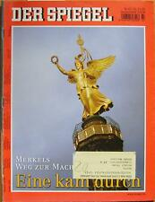 SPIEGEL 47/2005 Angela Merkel und ihr Weg zur Macht