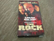 The Rock Vhs tape Sean Connery, Ed Harris, Nicolas Cage