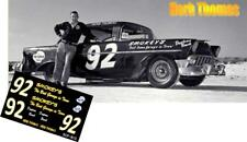 CD_813 #92 Herb Thomas  1956 Chevy   1:64 Scale Decals