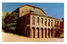 Piper's Opera House Postcard Virginia City Nevada Silver City of West Vintage
