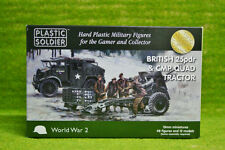 Plastic Soldier Company WW2 BRITISH 25PDR CMP QUAD TRACTOR 15mm