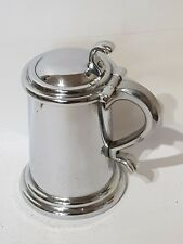 Vintage Chrome Plated Dunhill Tankard Petrol Table Lighter