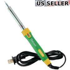Delcast 60W Electronic Soldering Iron Welding Gun Insulated Handle 110V