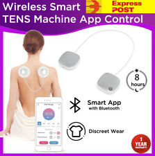 WIRELESS Smart TENS Machine Massager Unit Body Muscle Pain Relief Remote Control