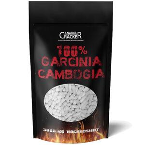 250 - 1000 Kapseln GARCINIA CAMBOGIA EXTRAKT 3000mg - 60% HCA