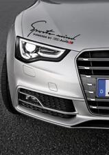 Sports Mind Decal Vinyl Car Stickers Headlight sticker for AUDI 350mm UK MADE