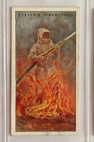 Mefisto Fire Resistant Clothing Fighting Appliances 1930 John Player Card (B9)