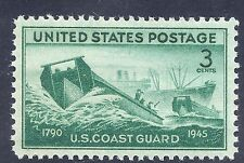 US stamp 1945 US Coast Guard 3 cent stamp MNH WW2 ERA