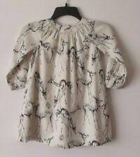 BABY GAP GIRL'S REINDEER PRINTED DRESS 100% COTTON (5 YEARS) NWT
