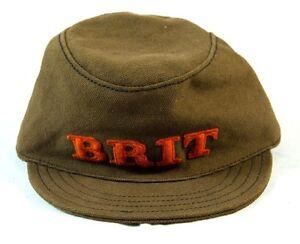 """Burberry Brit Boy's Military """"Mini Alfie"""" Hat sz. S/50cm NWT 100% Authentic"""