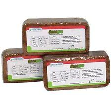 Botanicare Cocogro Bricks 5 Pack - 650g each brick -Coco Coconut Fiber Coir Worm