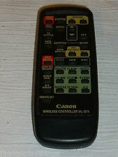 Canon Wireless Controller Remote Control WL-D74 WLD74