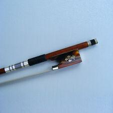 High Quality Pernambuco Violin Bow 4/4 Fluer-de-lys Inlay Ox-horn Frog