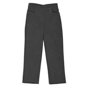 Zeco School Uniform Girls Two Pocket Lycra Stretch Fabric Trouser 2-16yrs(GB3039