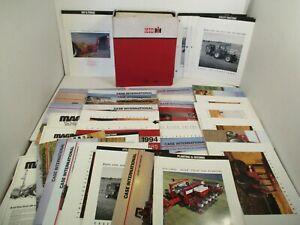 46 - Case IH Shop Manual USA Parts Catalog Owners Farm Tractor Brochures Equip.