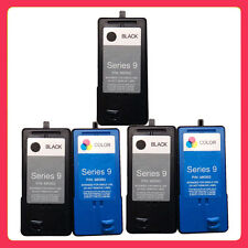 5PK Ink Cartridge (Series 9) for DeLL V305 V305w All-In-One 2 Black And 2 Colour