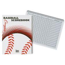 Champion Sports Baseball / Softball 25 Game Scorebook, 15 Players & Subs