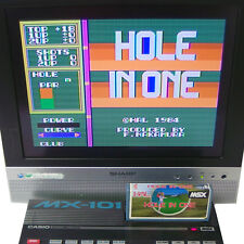 "MSX Cartridge Only "" HOLE IN ONE Golf Simulator "" Japan Import 1984 HAL RARE!"
