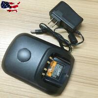 110-230V Battery Charger for Motorola XPR6550 XPR7550 XPR3300 PMNN4407 PMNN4077