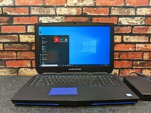 "Dell ALIENWARE 17 R3 17"" UHD 4K I7-6820HK 512GB SSD 16GB W10P 8GB GTX 980M"