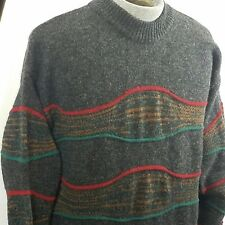 Vintage 80s Benetton Sweater Italy Shetland Wool sz 50