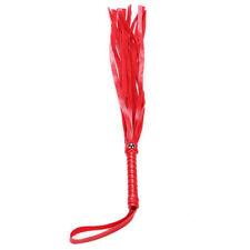 Cuero Flogger Látigo RASQUETA Juego De Rol Disfraz de utilería Gallina Fiesta De Disfraces vendedor de Reino Unido