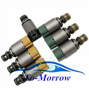 7Pcs 6HP19 6HP26 Transmission Solenoids kit For BMW X3 X5 325i 	328i Audi A6 A8