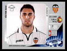 Panini Liga de Campeones 2012-2013 Víctor Ruiz Valencia CF no. 395
