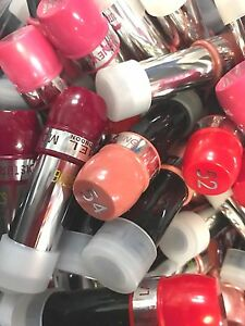 RIMMEL SAMPLE CASE LIPSTICKS WHOLESALE JOBLOT (PACK OF 24 ASSORTED SHADES) *NEW*