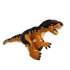 Dinosaur Toy Slasher The Allosaurus Imaginext Mattel 2004 Orange/Brown Posable