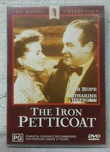 The Iron Petticoat DVD Bob Hope Katharine Hepburn Film Movie - AUST REGION 4