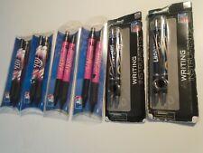 2 Nfl Writing Instruments Football Pen Pencil New chargers.4 mlb pens detriot