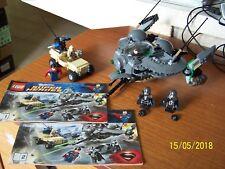 "Lego Super Heroes Man Of Steel n° 76003 ""Superman : Battle Of Smallville"" - 2013"