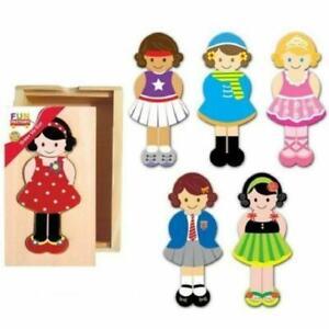 Fun Factory Puzzle Dress Up Girl 18pcs