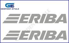 2 Stück ERIBA - Wohnwagen / Wohnmobil Aufkleber - Camper Sticker - Camper Decal!